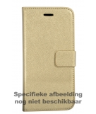 Mobiparts Saffiano Wallet Case Apple iPhone 5/5S/SE Gold